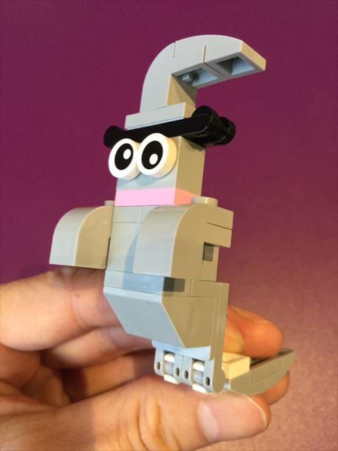 レゴランドディスカバリーセンター大阪・マスタービルダーアカデミーで作ったレゴ