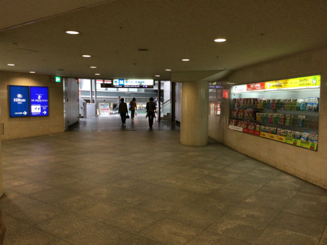 大阪第一生命ビルディング方面