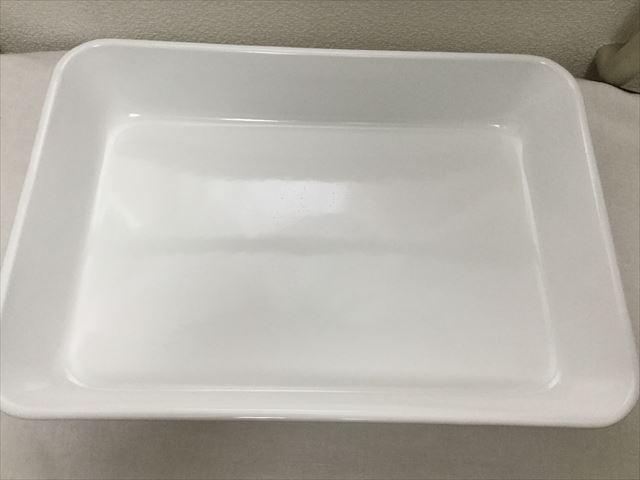倉敷意匠×野田琺瑯の水切りカゴ4点セットの開封