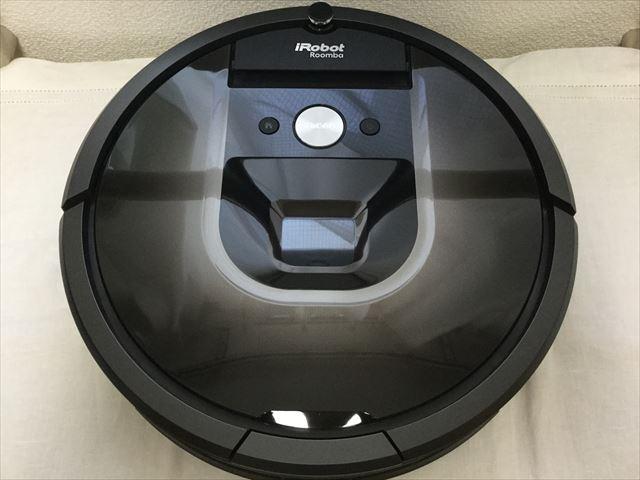 ロボット掃除機「ルンバ980」本体