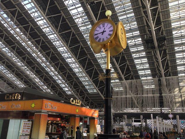 5階「時の広場」大阪ステーションシティ