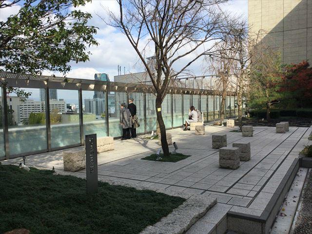 10階「和らぎの庭」大阪ステーションシティ