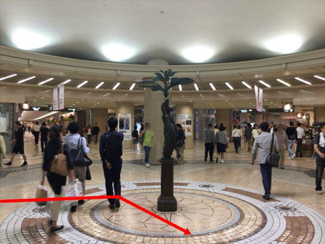 ディアモール円形広場