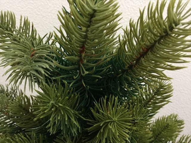 ドイツ・RSグローバルトレード社のクリスマスツリー(90cm)の枝葉の状態