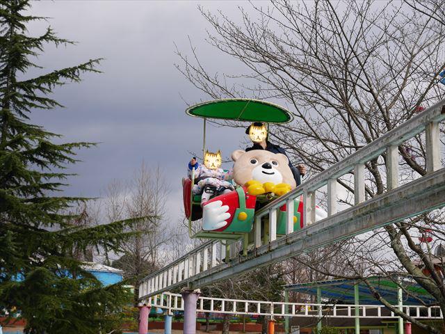 「東条湖おもちゃ王国」サイクルモノレール
