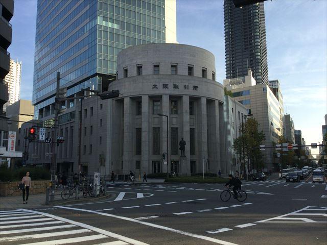 五代友厚像・北浜・証券取引所