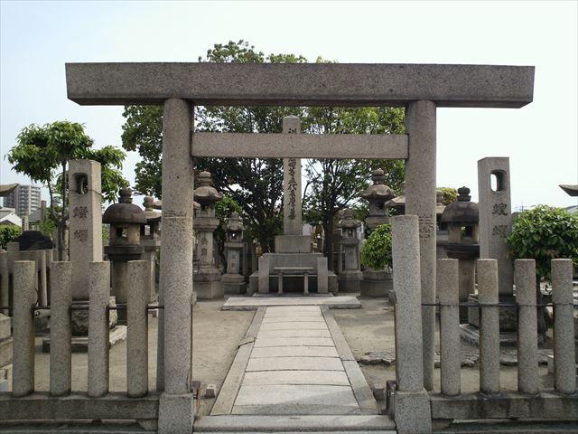 五代友厚のお墓・阿倍野墓地