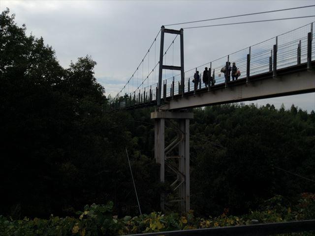 「ハーベストの丘」吊り橋