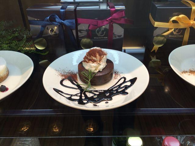 The Lobbyのチョコレートフォンダン