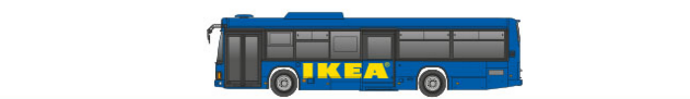 IKEA⇔梅田・大正エキスプレスバス