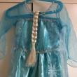 「アナと雪の女王 エルサ風ドレス4点セット」ドレスの様子