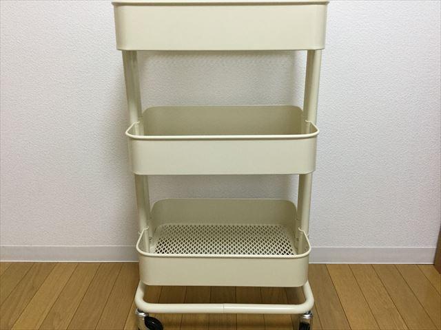 IKEAのワゴン「RASKOG」組立て完成