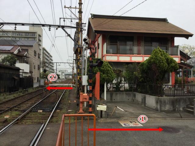 高須神社前