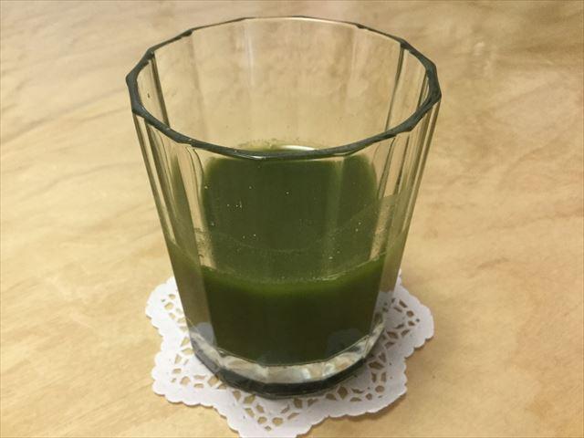 国産有機青汁「四重奏」(プロスペリティ)、青汁の完成
