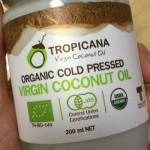 マーガリンの代用に、有機ココナッツオイルを始めました
