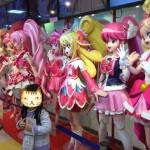 「プリキュアプリティストア」大阪本店、プリキュアオールスターズの等身大人形