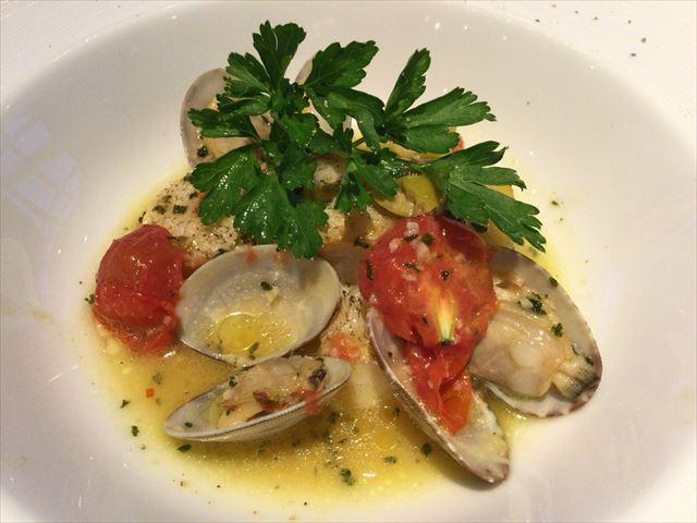 イタリア料理「ベルラーゴ(Be Lago)」料理の一品