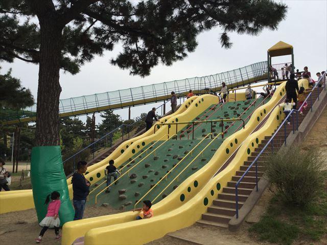 浜寺公園「南児童遊技場」特大滑り台