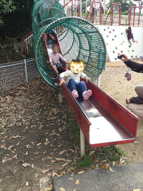浜寺公園「高石遊技場」ロングスライダー