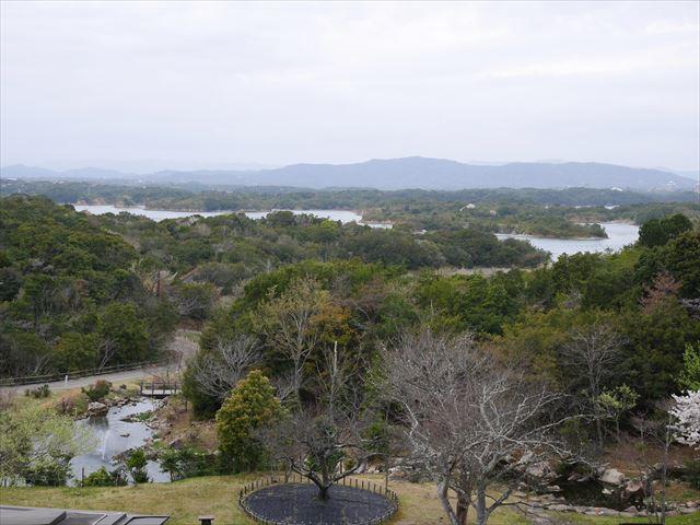 「ホテル近鉄アクアヴィラ伊勢志摩」上階から見た景色