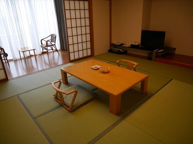 「ホテル近鉄アクアヴィラ伊勢志摩」和室の部屋