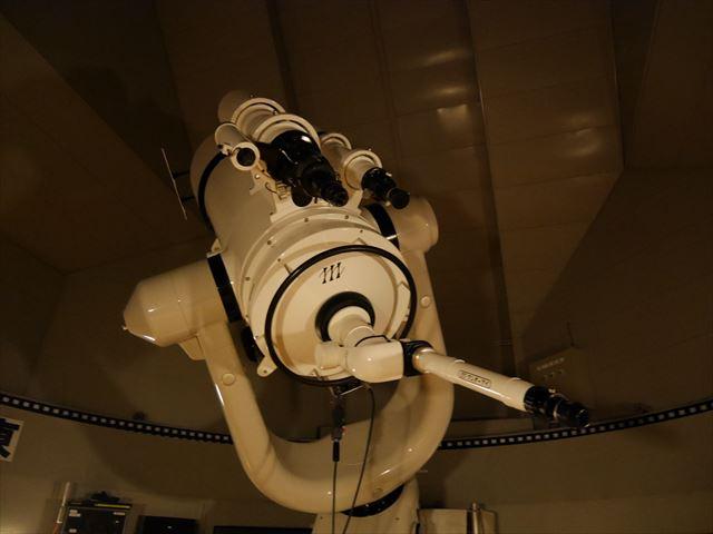 「ホテル近鉄アクアヴィラ伊勢志摩」、天文館にある望遠鏡