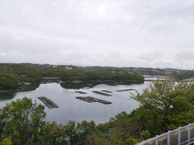 「志摩マリンランド」展望台からの眺め