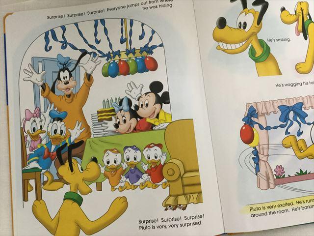 「DWE(ディズニー英語システム)」ブックのある1ページ