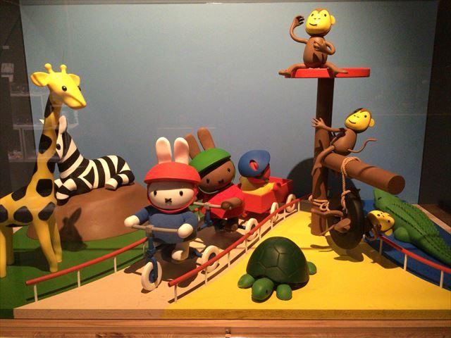 「ミッフィー展・大阪」出口の作品
