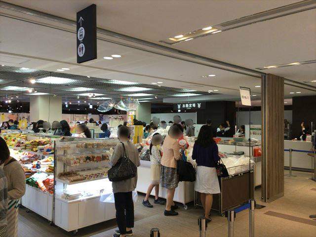 「ミッフィー展・大阪」のグッズ売り場の様子