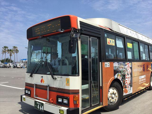 和歌山バス・マリーナシティ行き