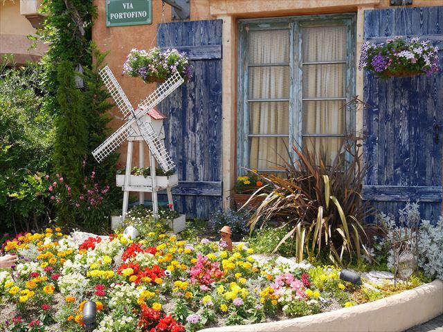 ポルトヨーロッパの花壇