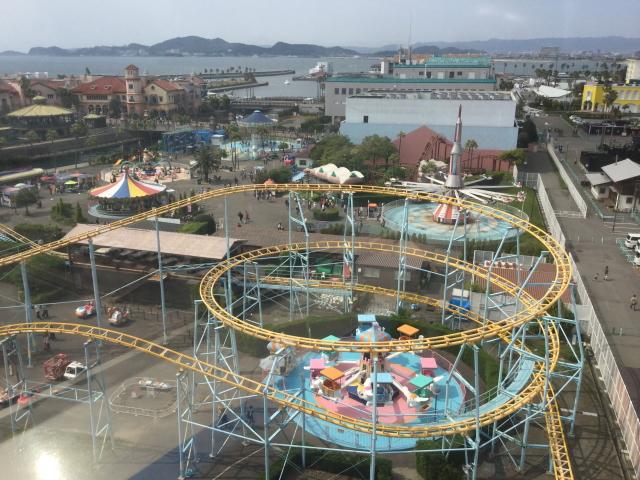 ポルトヨーロッパの観覧車「WAKKA」からの眺め