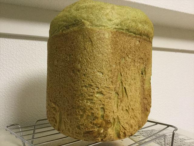 青汁入りライ麦全粒粉食パン