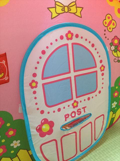 メルちゃんおせわパーツ「メルちゃんとわたしのおおきなおうち」入口のドアにあるポスト