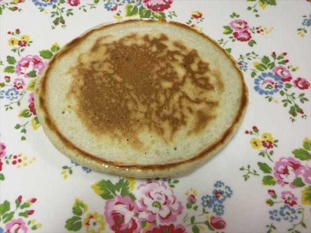 「九州パンケーキ」が焼きあがった