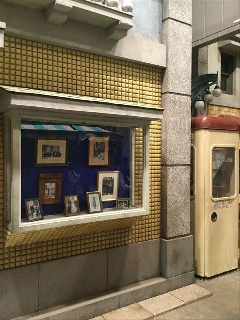 「べっぴんさん」のセット展示