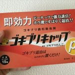 「ゴキブリキャップP1」パッケージ