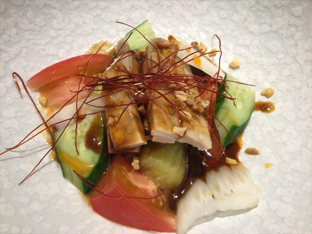 中国料理「翠亨園」コース料理、四川口水鶏