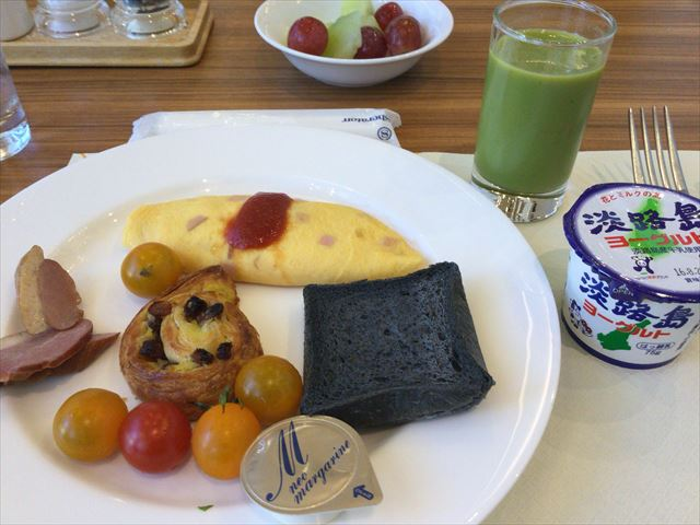 「神戸ベイシェラトンホテル&タワーズ」朝食バイキング