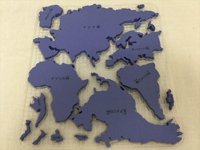 くもん「世界地図パズル」州別パズル
