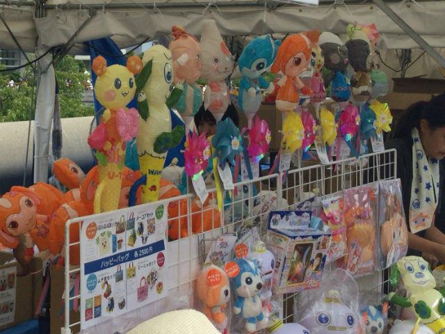 「おかあさんといっしょスペシャルステージ2016in大阪」グッズ売り場の様子