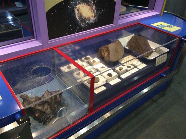 大阪市立科学館、4階展示場、隕石