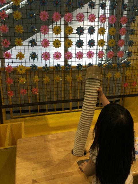 大阪市立科学館、2階展示場、風をおこす装置