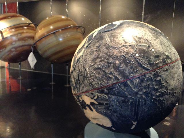 ソフィア堺「惑星の展示」