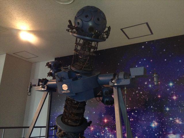 ソフィア堺のプラネタリウム投影機ミノルタ