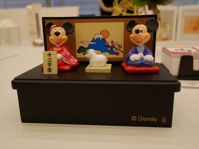 ディズニーお正月グッズ「ミッキー&ミニー十二支干支セット」