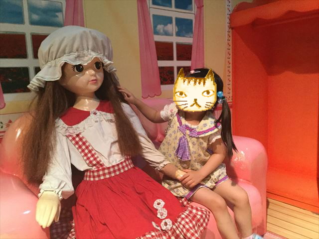 大阪府立大型児童館「ビッグバン」リカちゃん、おもちゃタイムカプセル