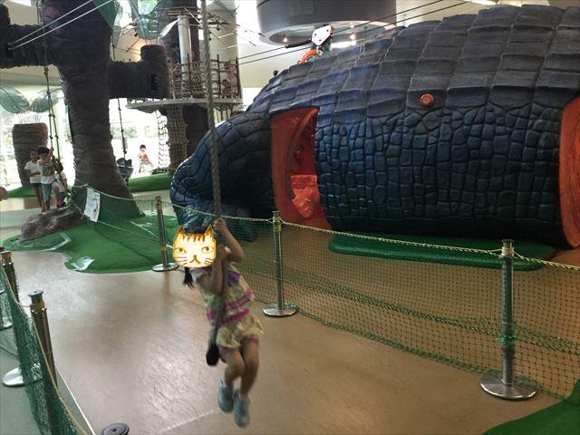 大阪府立大型児童館「ビッグバン」アスレチック
