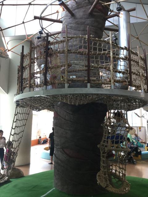 大阪府立大型児童館「ビッグバン」アスレチック遊具